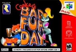 Conker's Bad Fur Day (USA) Box Scan